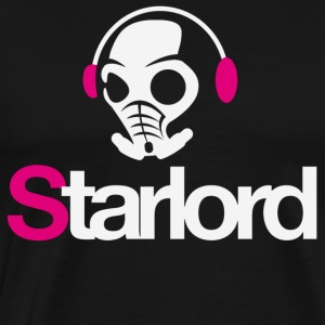 Starlord Headphone Picture - Men's Premium T-Shirt