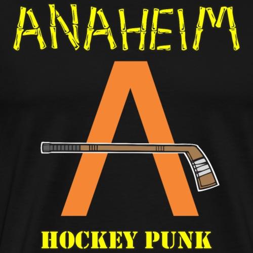 Anaheim Hockey Punk - Men's Premium T-Shirt