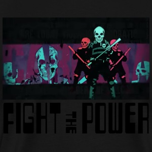Fight The Power - Men's Premium T-Shirt