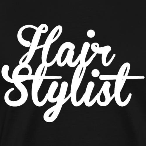HairStylist - Men's Premium T-Shirt