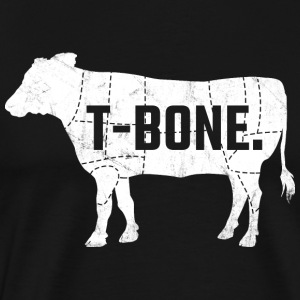 T-Bone Steak - Men's Premium T-Shirt