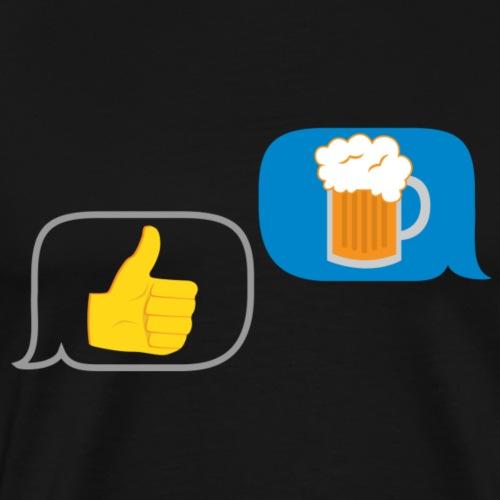 Beer? You Bet! - Men's Premium T-Shirt
