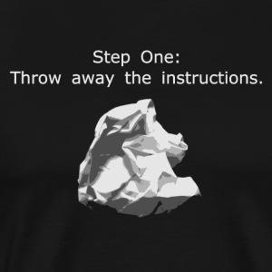 Who Needs Instructions? - Men's Premium T-Shirt