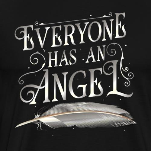 Everyone has an Angel - Men's Premium T-Shirt
