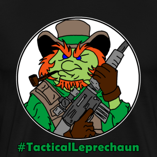 Tactical Leprechaun Tee - Men's Premium T-Shirt