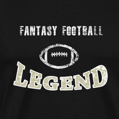 Fantasy Football Fan Legend. Champion. - Men's Premium T-Shirt