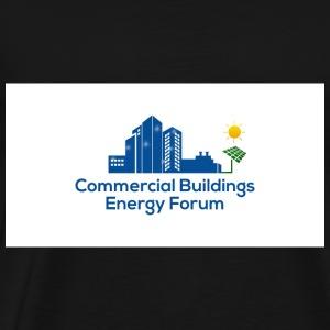 Commercial Buildings Energy Forum Logo - Men's Premium T-Shirt
