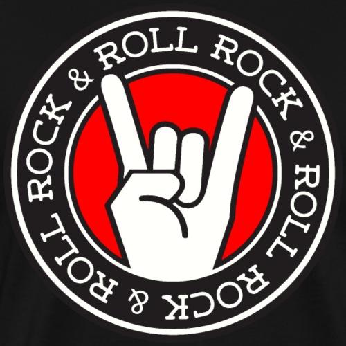ROCK & ROLL - Men's Premium T-Shirt
