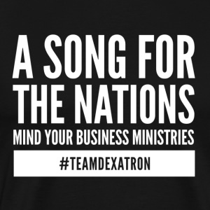 A SONG FOR THE NATIONS WHITE - Men's Premium T-Shirt