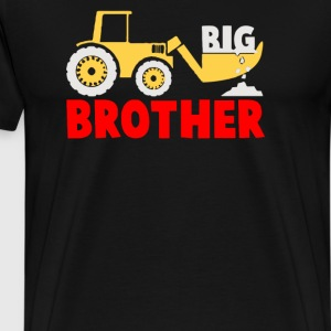 Big Brother Gift for Tractor Loving Boys - Men's Premium T-Shirt