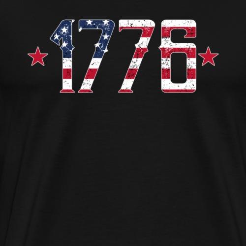 1776 Forth July American Pride Patriot - Men's Premium T-Shirt