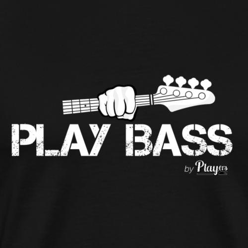 Play Bass - Men's Premium T-Shirt