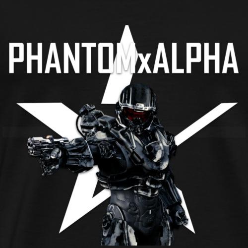 PHANTOMxALPHA Spartan Logo - Men's Premium T-Shirt