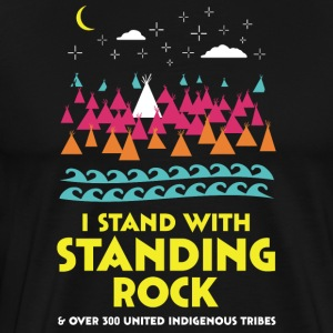 Stand With Standing Rock Shirt - Men's Premium T-Shirt