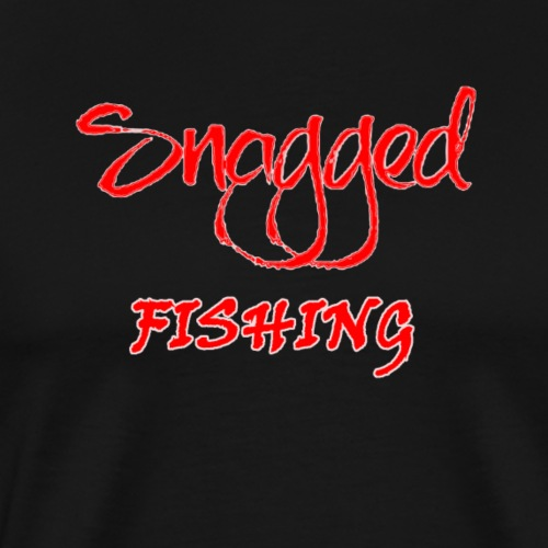 Snagged Fishing - Swagger Logo - Men's Premium T-Shirt