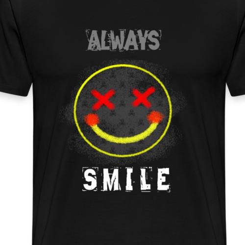 Always Smile - Men's Premium T-Shirt