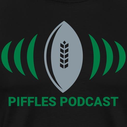 Piffles Logo with Text - Men's Premium T-Shirt