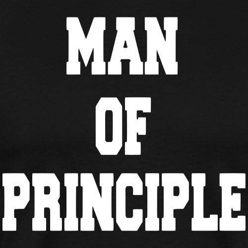 Man of Principle - Men's Premium T-Shirt