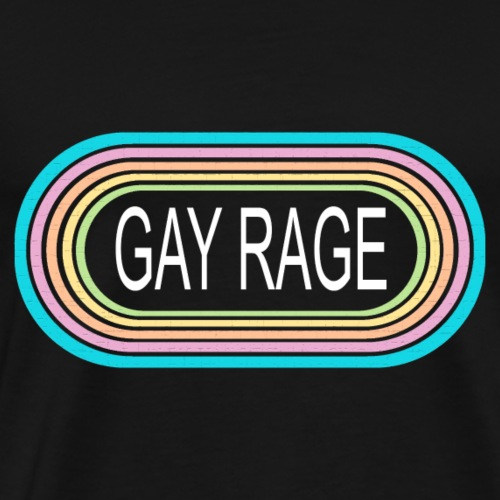 Gay Rage 01 - Men's Premium T-Shirt