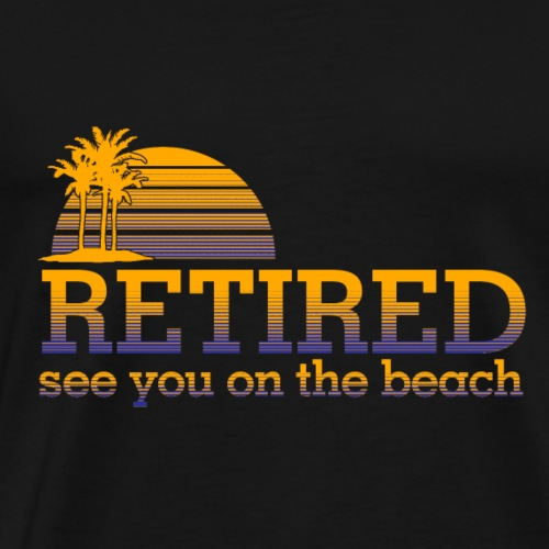 01 retired copy - Men's Premium T-Shirt