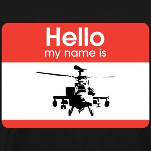 Apache is the name - Men's Premium T-Shirt