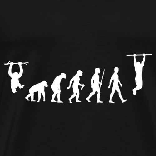 Evolution of Calisthenics - 2 - Men's Premium T-Shirt