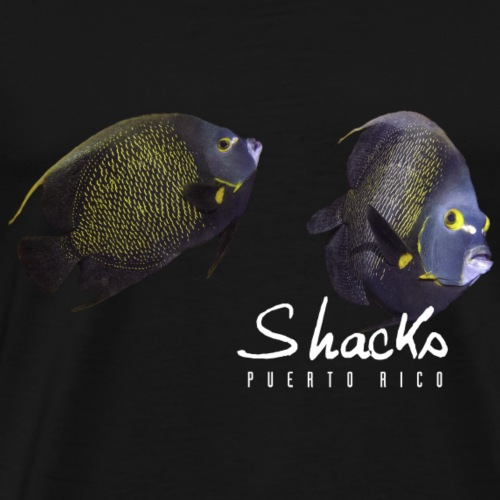 Angelfish - Shacks - Men's Premium T-Shirt