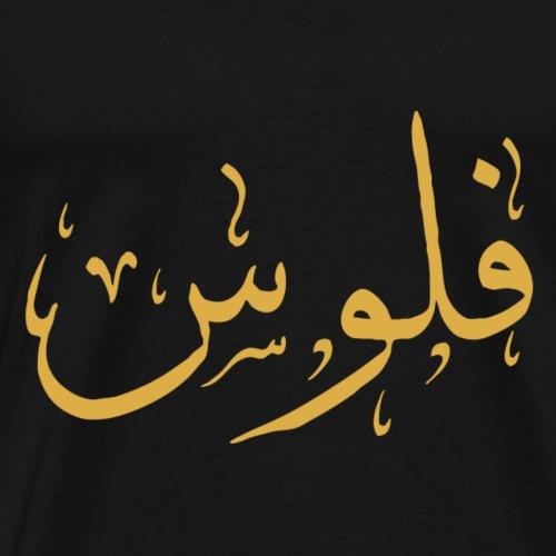 Money in Arabic - فلوس بالعربي - Men's Premium T-Shirt