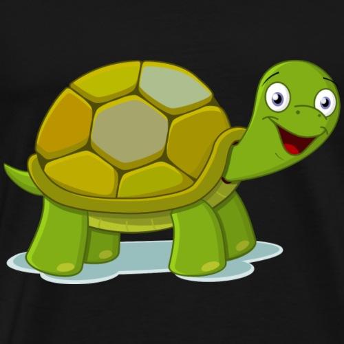 Baby Turtle Design - Men's Premium T-Shirt