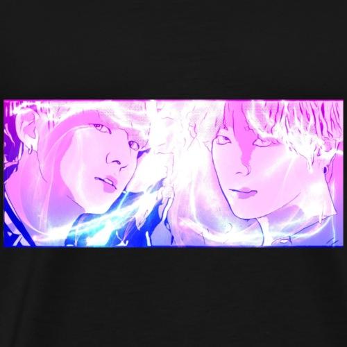 BTS V AND JUNGKOOK DNA VKOOK TAEKOOK TAEHYUNG JK - Men's Premium T-Shirt