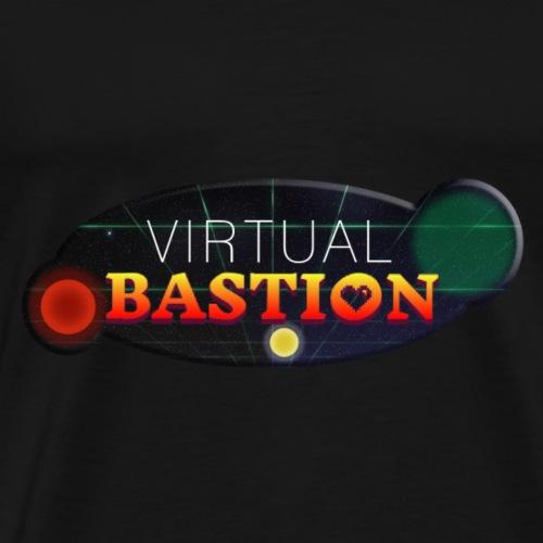 Virtual Bastion: Space Logo - Men's Premium T-Shirt