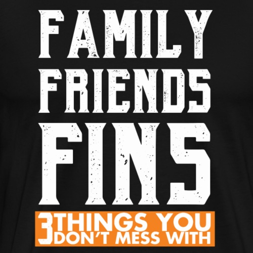 FINS FAM - Men's Premium T-Shirt