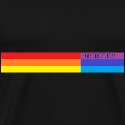 Rainbow Banner - Men's Premium T-Shirt