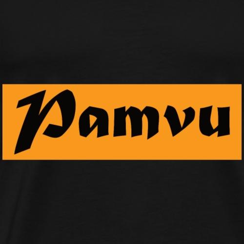 PamvuOrangeBK - Men's Premium T-Shirt