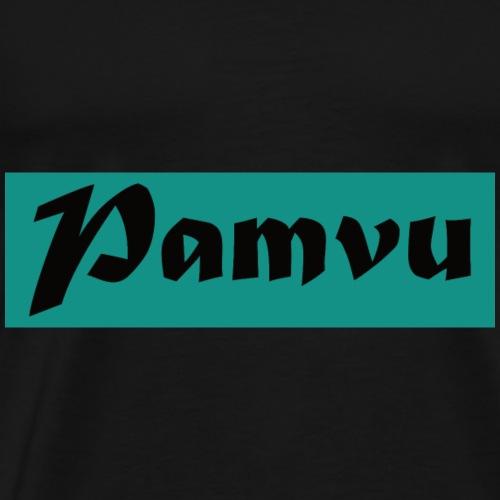 PamvuTealishBlack - Men's Premium T-Shirt