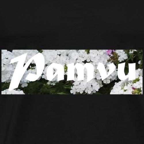 PamvuWhiteFlower - Men's Premium T-Shirt