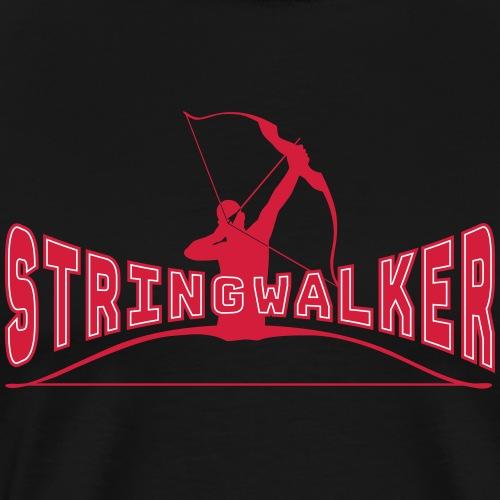 Stringwalker Archer (Archery by BOWTIQUE) - Men's Premium T-Shirt