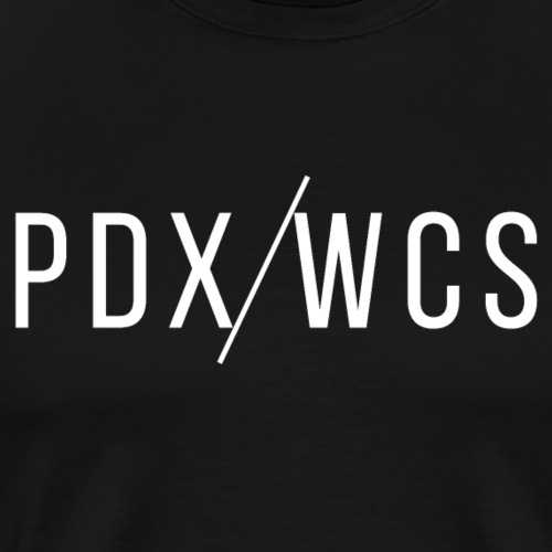 PDX/WCS Signature Logo - Men's Premium T-Shirt