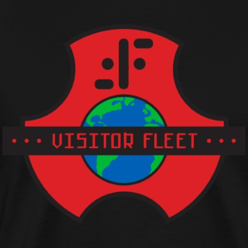 visitor fleet logo - Men's Premium T-Shirt
