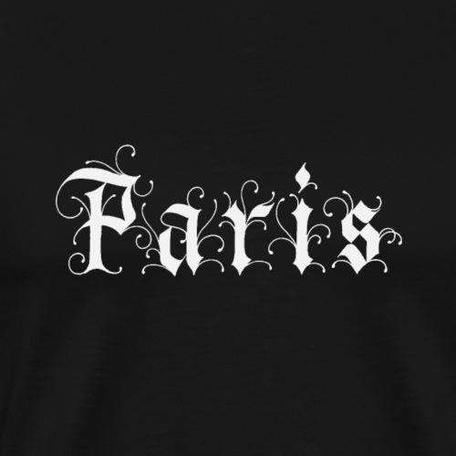 Paris White - Men's Premium T-Shirt