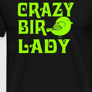 CRAZY BIRD LADY - Men's Premium T-Shirt