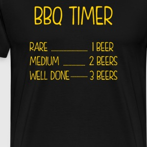 BBQ Timer Barbecue - Men's Premium T-Shirt