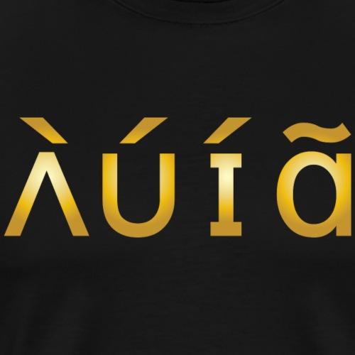 AUIA ( GOLD LIFE) T-SHIRT - Men's Premium T-Shirt