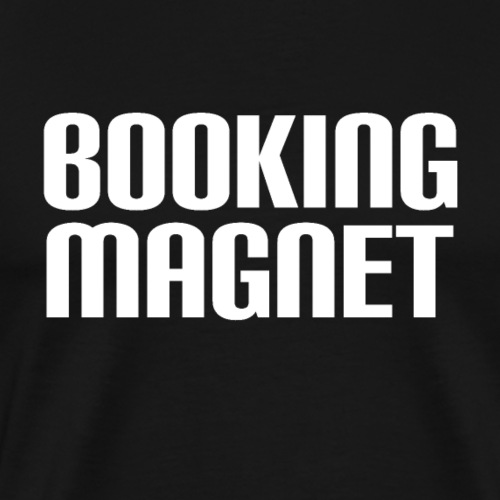Booking Magnet - White - Men's Premium T-Shirt
