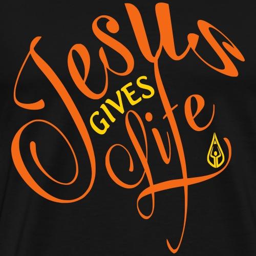 Jesus Gives Life - Men's Premium T-Shirt