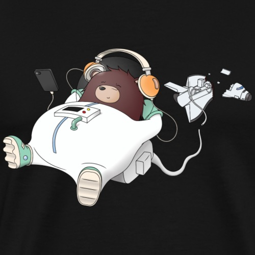 Chillout Bear Music - Men's Premium T-Shirt