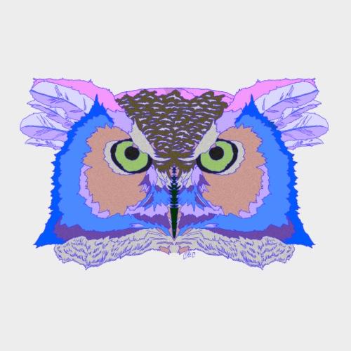 Owl 1 - Men's Premium T-Shirt