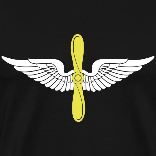 aviation - Men's Premium T-Shirt