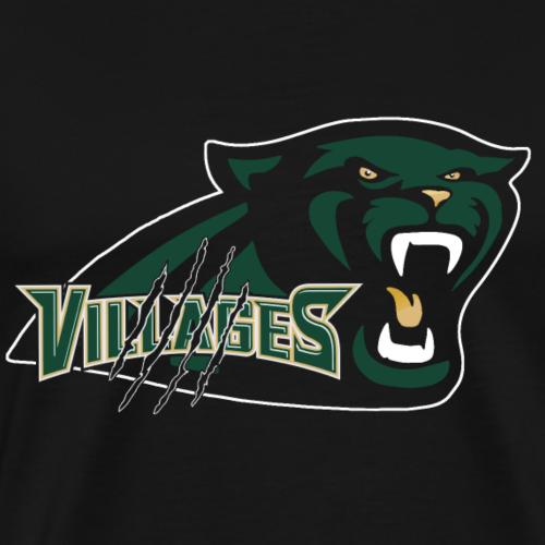 New Panther in black - Men's Premium T-Shirt