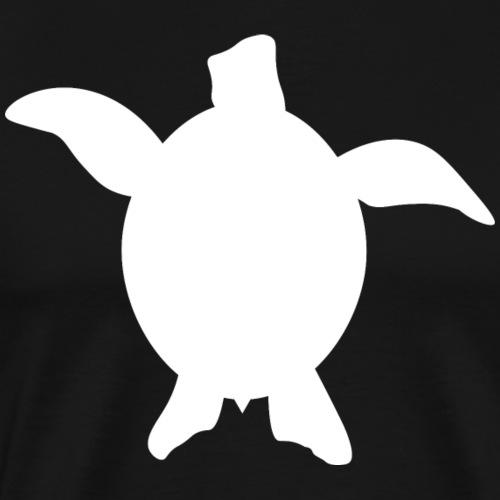Sea Turtle - White - Men's Premium T-Shirt